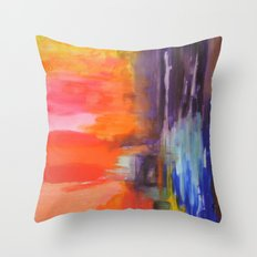 First Free Attempt Throw Pillow