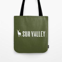 Deer: Sun Valley, Idaho Tote Bag