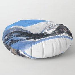 Lake Louise in Banff National Park Floor Pillow