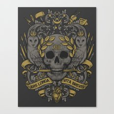 ARS LONGA VITA BREVIS Canvas Print
