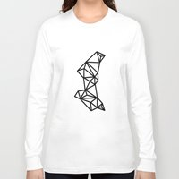 geo Long Sleeve T-shirts featuring Geo by Miranda Williams