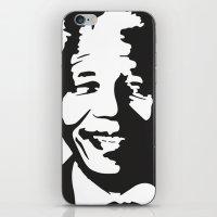 mandela iPhone & iPod Skins featuring Mandela by b & c