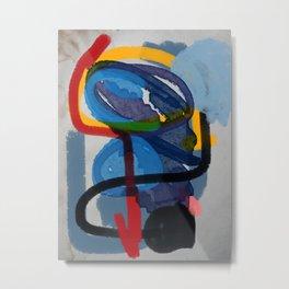 Zen Abstract ExpressionismArt  Metal Print