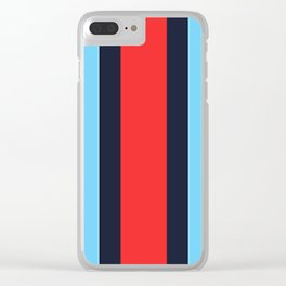 Martini Racing Colours Clear iPhone Case