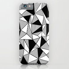 Ab Lines with Black Blocks iPhone 6s Slim Case