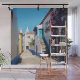Obidos, Portugal (RR 175) Analog 6x6 odak Ektar 100 Wall Mural