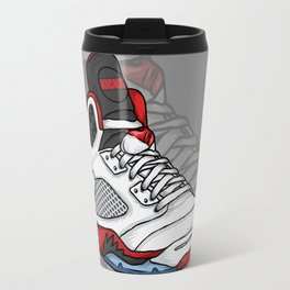 j5-fire reds Travel Mug
