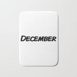 December Bath Mat