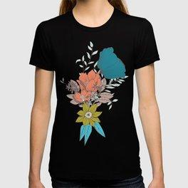 Botanical pattern 011 T-shirt