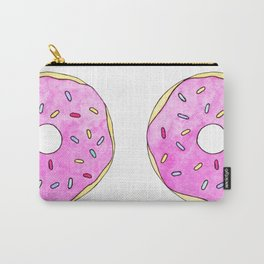 Watercolor Donut Carry-All Pouch