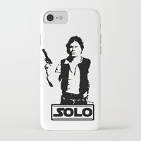 han solo iPhone & iPod Cases featuring Han Solo by Mister Munny