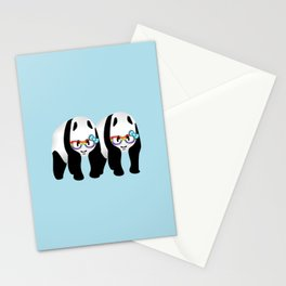 Gay Pride Pandas Stationery Cards