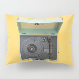 Lionel's Record Player Pillow Sham