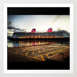 Port of Call  Art Print