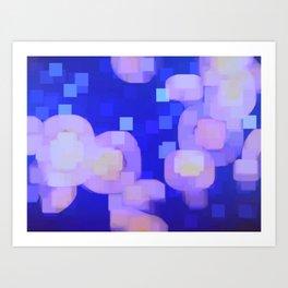 JELLYFISH PIXEL Art Print