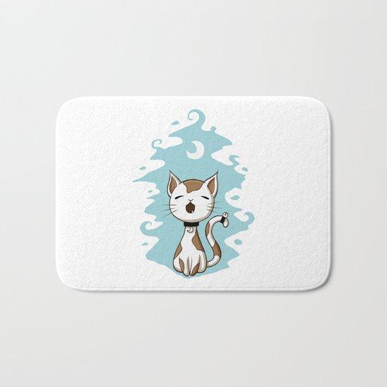 Singing Cat Bath Mat