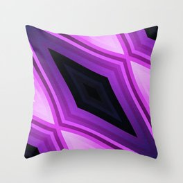 stripes wave pattern 6v3 std Throw Pillow