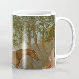 George Stubbs - Pumpkin with a Stable-lad Coffee Mug