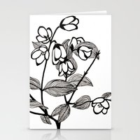 jasmine Stationery Cards featuring Jasmine by Dianadia
