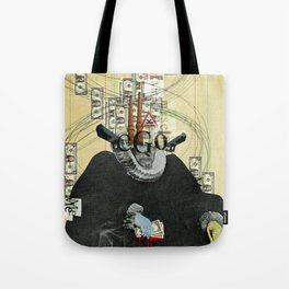 just thinking about myself... Tote Bag