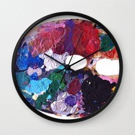 Paint  Wall Clock