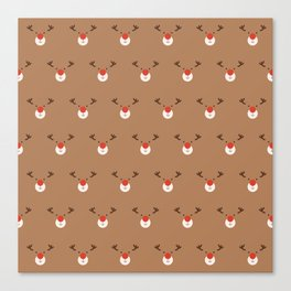 Rudolph Clones (Patterns Please) Canvas Print