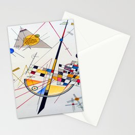 Kandinsky Delicate Tension Stationery Cards