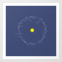 astrology Art Prints featuring Astrology by NK Photography