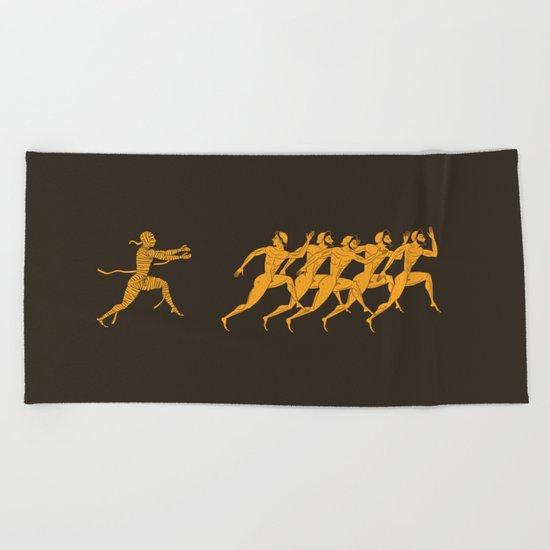 Ancient Greece Beach Towel
