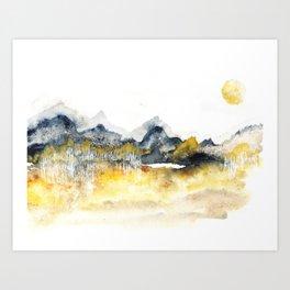 Release to Sleep Art Print