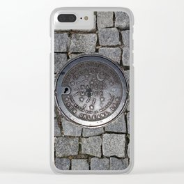 New Orleans Iron Water Utility Cover Clear iPhone Case