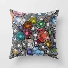 Circles 2 Throw Pillow