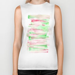 141203 Abstract Watercolor Block 7 Biker Tank