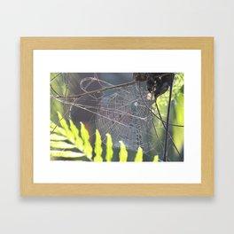 The Weaver Framed Art Print