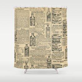 Vintage Catalogue Shower Curtain