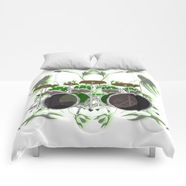 Drum Kit with Tribal Graphics Comforters