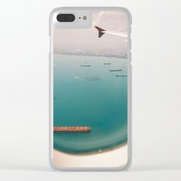 Shipping Paradise Clear iPhone Case