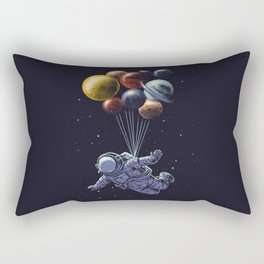 Space travel Rectangular Pillow