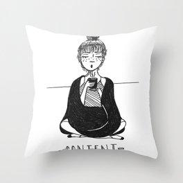 CONTENT Throw Pillow