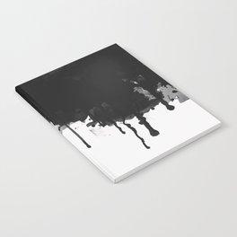 Spilled Ink Notebook