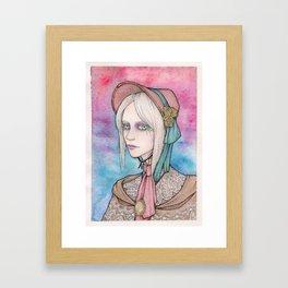 Bloodborne Doll Framed Art Print