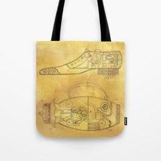 POEM OF SPACESHIP Tote Bag