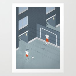 I was an only son Art Print