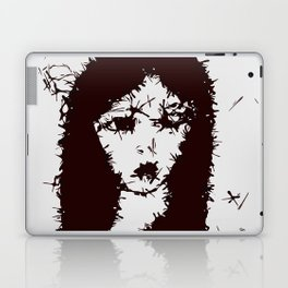 Mysterious Gothic Lady Laptop & iPad Skin