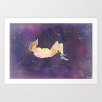 Art Print featuring Float 3 by Kate Solow