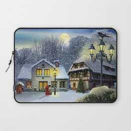 Winter time ... Christmas time Laptop Sleeve