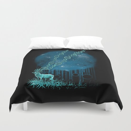 DNA Deer Duvet Cover