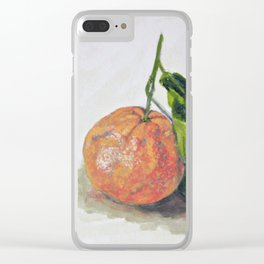 Sweet clementin Clear iPhone Case