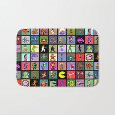 Pixel Heroes Bath Mat
