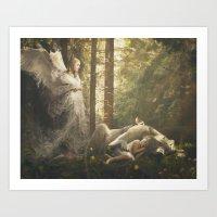 De Mysteriis Dom Sathanap Art Print